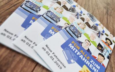 Neuer Folder für den Stadtbus